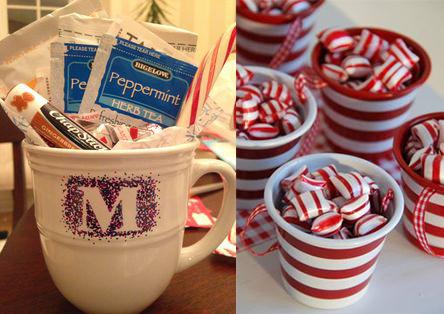 Candy Filled Mugs