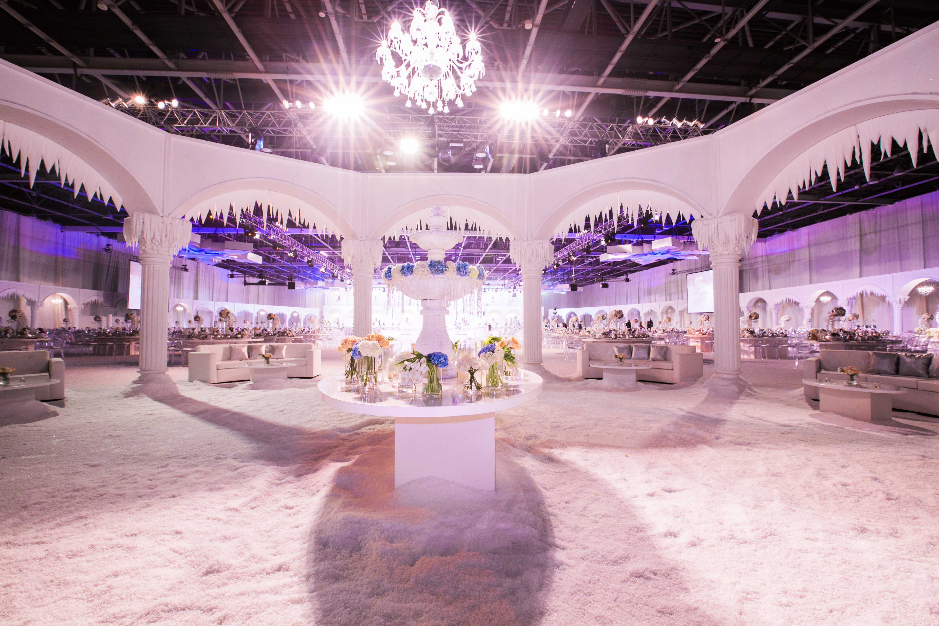 Winter wonderland wedding by jennifer nora wedding dresses did you incorporate any personal touches that reflected the bride and grooms personality in emirati culture its the grooms family that plan the wedding junglespirit Images