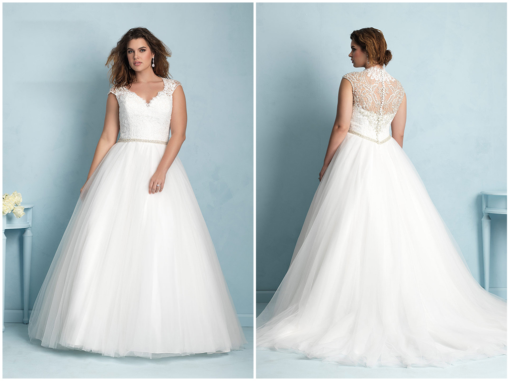 Wedding Dress Styles For Petite Curvy Brides - Wedding Guest Dresses