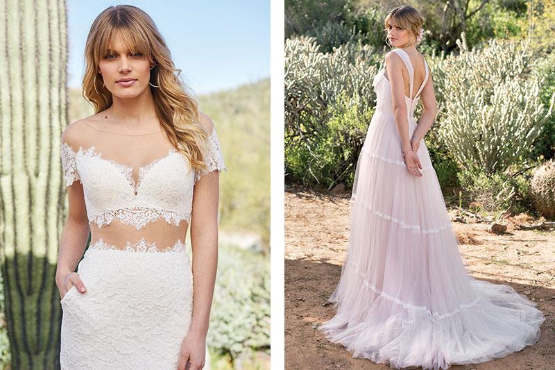Lillian West wedding gowns Dubai