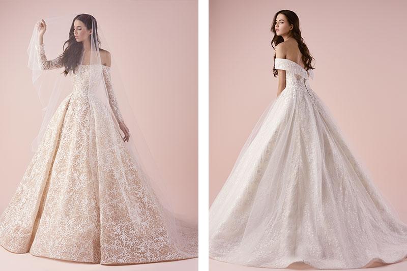 Saiid Kobeisy wedding gown dubai