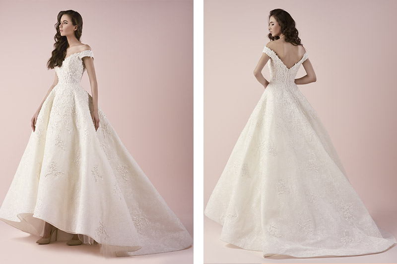 Saiid Kobeisy ready to wear bridal dress