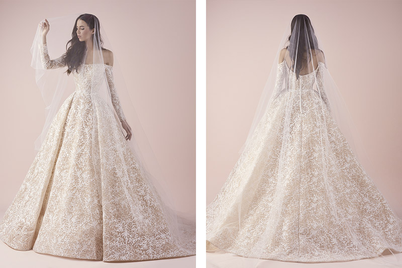 Saiid Kobeisy wedding gown