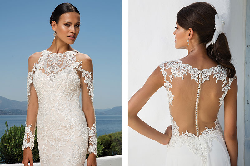 A Wedding Dress Trend We Love: Tattoo Lace – Wedding Dresses, Gowns ...
